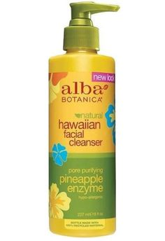Natural Hawaiian Facial Cleanser Pore Purifying Pineapple Enzyme
