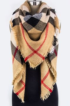 Cozy, soft, oversize blanket scarf! This will keep you warm all winter. Product…