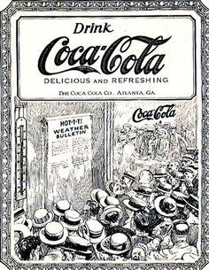 *Coca-cola ad by HunnyBerri Coca Cola Poster, Coca Cola Ad, Always Coca Cola, Pepsi, Coca Cola Vintage, Coca Cola History, World Of Coca Cola, Posters Vintage, Vintage Ads