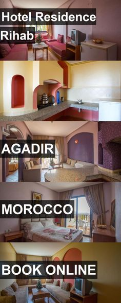 Hotel Hotel Residence Rihab in Agadir, Morocco. For more information, photos, reviews and best prices please follow the link. #Morocco #Agadir #HotelResidenceRihab #hotel #travel #vacation