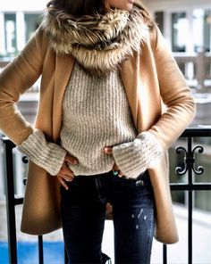 faux fur + cozy