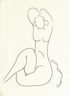 Matisse, illustration for a book of MALLARMÉ poems