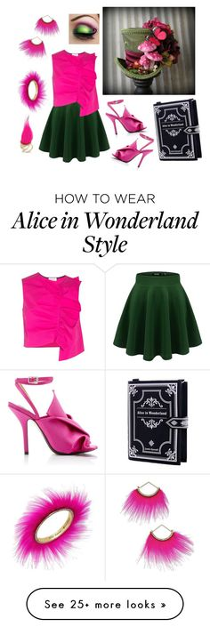 """""""Mad Hatter Look"""" by krazy-kitten on Polyvore featuring Isa Arfen, N°21 and Betsey Johnson"""
