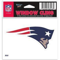 New England Patriots Window Cling – 460 Sports