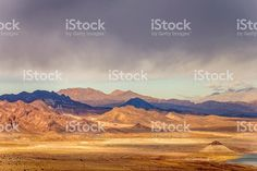 Mountain view near Las Vegas and Hoover Dam royalty-free stock photo
