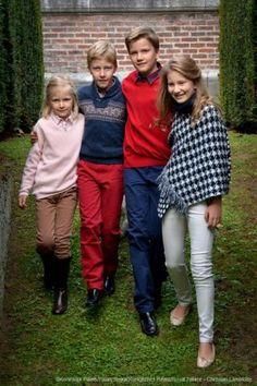 Prinses Eléonore, Prins Emmanuel, Prins Gabriël, Prinses Elisabeth