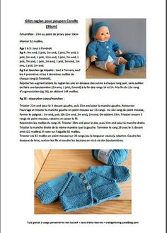 knitting for kids free pattern ~ knitting for kids free pattern Knitting Dolls Clothes, Knitted Dolls, Doll Clothes Patterns, Free Baby Blanket Patterns, Knitting Patterns Free, Free Pattern, Knitting For Kids, Easy Knitting, Doll Clothes Barbie