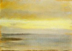 Edgar Degas - Marina, Sunset 1869
