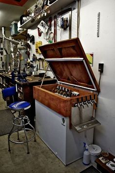 keezer - bar top inspiration