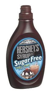 Hershey's Sugar-Free Syrup is fat free, low carb, low calorie sugar free syrup with vitamins and minerals. Experience the genuine, high quality flavor and famous taste of your favorite Hershey's syrup but without sugar. Hershey Syrup, Sugar Free Sweets, Vegan Substitutes, Sugar Free Syrup, Gourmet Recipes, Breakfast Recipes, Sweet Tooth, Low Carb, Chocolate