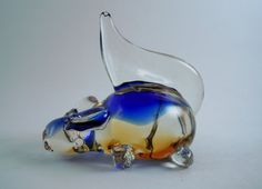 Hand Blown Beautiful Glass Animal Figurine