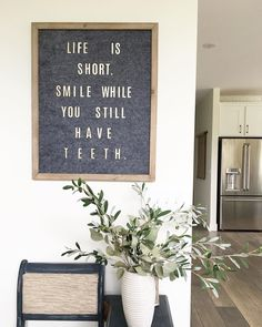 DIY Letterboard on Instagram from The Concrete Cottage