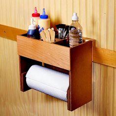 Portable Glue/Towel Center