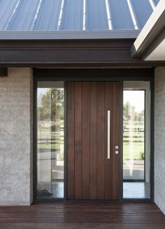 Urban Homes' show homes in Hamilton are second to none. Our show homes are designed to inspire you with ideas for your new home. View the photo gallery from some of Urban Homes favourite projects in Hamilton & Waikato. Modern Entrance Door, Modern Exterior Doors, Modern Front Door, Exterior Front Doors, House Front Door, House Entrance, Entrance Doors, Wood Front Doors, House Doors