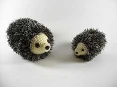 Ready to be overcome by cuteness? Check out this amigurumi crocheted hedgehog pattern from Nickie Engle that I spotted on Ravelry! I mean, how could you sa