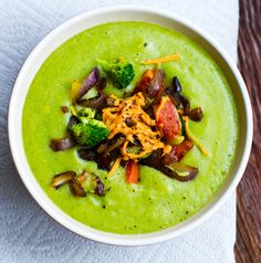 Cheezy Loaded Potato Broccoli Soup: Healthy Makeover Recipe - Healthy. Happy. Life.