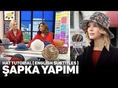 Crochet Clothes, Crochet Hats, Hat Tutorial, Crochet Accessories, Caps Hats, Fitness Inspiration, Bandana, Crochet Patterns, Winter Hats