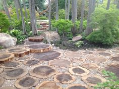 Natural Rustic Pathways Design, Pictures, Remodel, Decor and Ideas