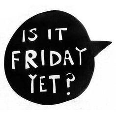 Is It Friday Yet? - Watzijzegt.com