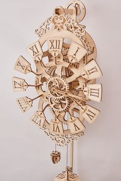 Online store of eco-friendly toys in the USA – DoEcoLiving. More then 70 eco-toys. Wooden Gear Clock, Wooden Gears, Pendulum Wall Clock, Eco Friendly Toys, 3d Puzzles, Automata, King Jr, Wooden Diy, Martin Luther