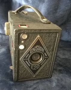 Ensign E20 Camera, Vintage Camera, Box Brownie, Vintage Photography, 1920s, Display Piece, Collectible, Gift Idea, Home Decore by TillyofBloomsbury on Etsy