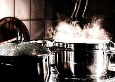 Kitchen, Cook, Pots, Cooking Pot, Steam
