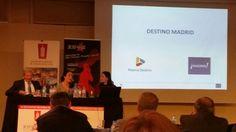 Ahora Mar de Miguel Dtra Turismo Empr Munic Madrid y Antonio Gil Pte de AEHM #encuentroAEDH