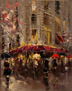 """""""Café"""" by Kal Gajoum"""