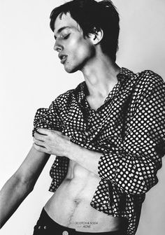 Model Files: Sylvester Ulv http://fashiongrunge.com/2014/07/20/model-files-sylvester-ulv-henriksen/