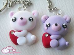 Love is in the Air - Portachiavi Orsetto Innamorato #kawaii #cute #sweet…