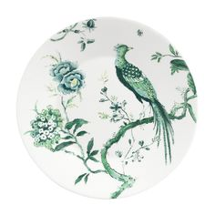 """SALAD PLATE 9"""" - CHINOISERIE WHITE"""