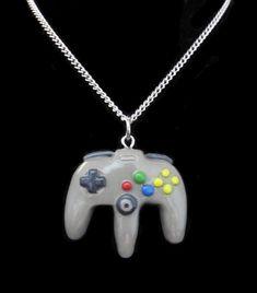Create Your Own Nintendo 64 Controller Necklace