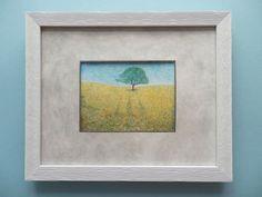 Handmade drawing. Nature scenery tree. Original and por ArtEstrela