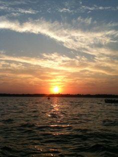 Clear Lake Iowa amazing sunset