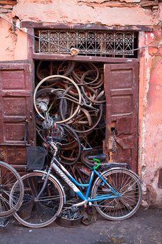 #Bicycle#Bike#Biciclette Marrakech, Morocco
