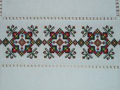 Ukraine , from Iryna Small Cross Stitch, Cross Stitch Art, Cross Stitch Borders, Cross Stitching, Cross Stitch Patterns, Folk Embroidery, Cross Stitch Embroidery, Embroidery Patterns, Palestinian Embroidery