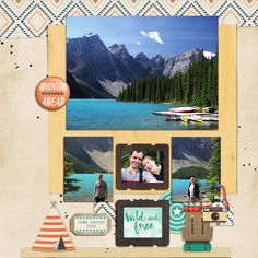 High Adventure in Canada - by Justine - made with Design By Dani's new High Adventure kit and digitial stickers http://www.snapclicksupply.com/high-adventure-complete-kit/ http://www.snapclicksupply.com/high-adventure-digital-stickers/