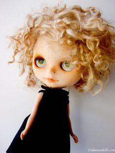 One Customized OOAK Blythe Doll Rico by Dakawaiidolls on Etsy