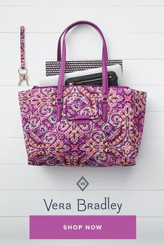 7980368ed6 Sometimes you need a tote that can go perfectly from work to travel. The  Iconic. Vera Bradley