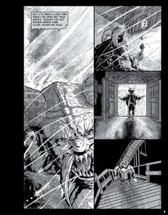 Hello!  This is a page from my new graphic novel, Sanctuary: The Stone Man Mysteries, Book Two. It is written by the New York Times best selling author Jane Yolen and Adam Stemple, lettered by Bill Hauser, and edited by the patient and fantastic Greg Hunter. The graphic novel is published by The Lerner Publishing Group.  To purchase the graphic novel at Amazon.com, please visit the following link: https://tinyurl.com/y8yj6bzo  Thanks so much for your time!
