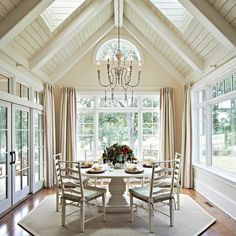 CC - traditional - dining room - charlotte - Carolina Design Associates, LLC