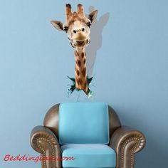 #newarrival #3d #wallsticker New Arrival Lovely 3D Giraffe Wall Sticker  Buy link-->http://goo.gl/UXmdBU Discover more-->http://goo.gl/4uQJlM Live a better life,start with @beddinginn