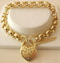 Genuine Solid 9ct Yellow Gold Plain Round Belcher Bracelet 19cm TO 21cm | eBay