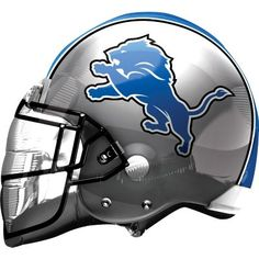 Are you ready for some football? Support your team with a Helmet Detroit Lions Balloon. Detroit Lions helmet balloon is great for tailgate parties. Detroit Lions Helmet, Detroit Lions Football, Cincinnati Bengals, Detroit Lions Wallpaper, White Sox Logo, Thanksgiving Day Football, Football Party Supplies, Lions Team, Nfl Football Helmets
