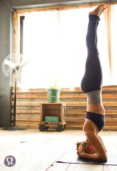 How to Headstand. #yoga