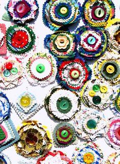 Sarah Moore Vintage corsages