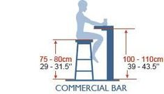 Stool height for commercial bar Bar Chairs, Bar Stools, Desk Chairs, Room Chairs, Dining Chairs, Kitchen Interior, Modern Interior, Kitchen Design, Home Bar Designs