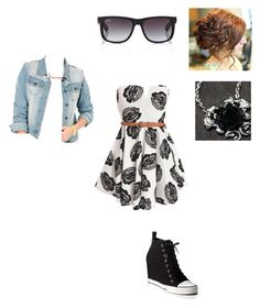 """Pretty Girl Swag"" by just-me-as-i-am ❤ liked on Polyvore"