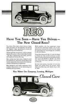 1922 REO | Flickr - Photo Sharing!