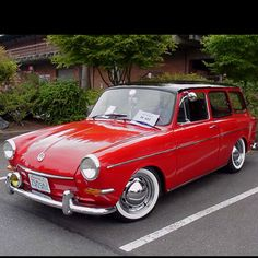 VW Squareback! Me and Tyler have decided we will own one of these one day!! :) Can't Wait!! ;)